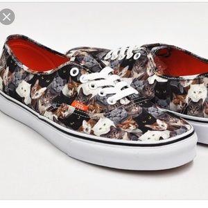 78af99347aacfe Vans cat shoes ASPCA women s 6 men s 4.5